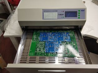 T962A Plus SMT Reflow Oven 450*370mm 2300w Infrared IC Heater PCB Soldering T962A+
